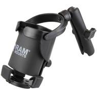 RAM Mount Level Cup™ XL w\/Long Double Socket Arm [RAM-B-417B-C-201U]