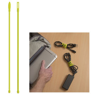 "Nite Ize Gear Tie Cordable Twist Tie - 12"" - Neon Yellow - 2-Pack [GTK12-33-2R7]"