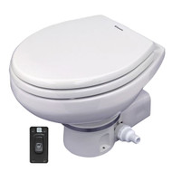 Dometic MasterFlush 7260 White Electric Macerating Toilet - Raw Water - 12V [304726009]