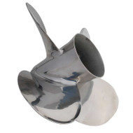 "HM MerCruiser Bravo 2 ""Big Cow"" 4 Blade Stainless Steel Propeller"