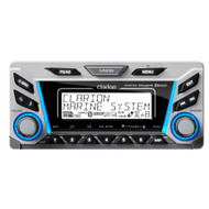 Clarion M606 Digital Media Receiver w\/Built-In Bluetooth IP65 Front Panel, AM\/FM\/NOAA Weather [M606]