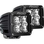 Rigid Industries D-Series PRO Hybrid-Spot LED - Pair - Black [202213]