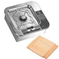 Dometic ORIGO 2000 Single Burner - Non-Pressurized Built-In Alcohol Stove w\/Cutting Board [9581409-99]