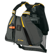 Onyx Movement Dynamic Paddle Sports Vest - Yellow\/Grey - XS\/Small [122200-300-020-18]