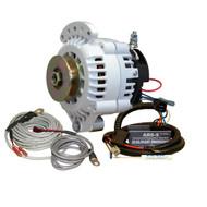 Balmar 621 Series Alternator - Spindle Mount(Single Foot) Charging Kit - 100A - 12V [621-VUP-100-SV]