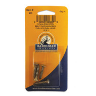 """Handi-Man Phillips Self Tapping Oval Screw Stainles Steel - #10 x 1"""" [639]"""
