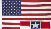 5X9.6 Cotton U.S. Burial Casket Flag