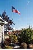 20 Foot 12 Gauge Telescoping Flagpoles With Free Flag
