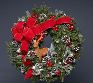 Winter Wildlife Wreath