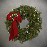 Holly-Day Wreath