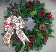 Country Cone Wreath