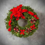 Holiday Deluxe Wreath