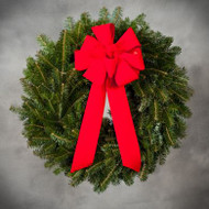 Wreath with a Bow