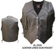 Ladies Single Panel Back Club Vest