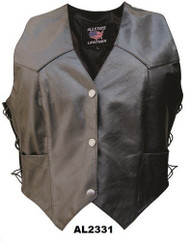 Allstate Leather AL2331 Ladies Vest