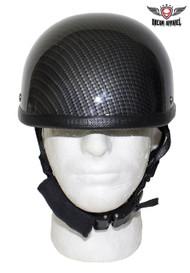 Black Carbon Fiber Novelty Helmet