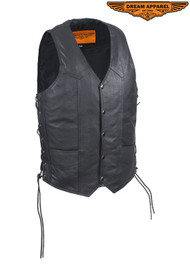 Dream Apparel Mens Vest With Multi Pockets