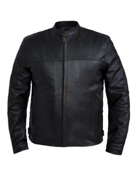 Unik International 6057.NG Mens Lightweight Leather Jacket