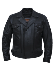 Unik International 341.00 Mens Premium Cowhide Cruiser Jacket