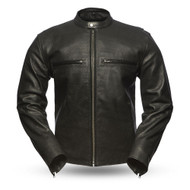 First Manufacturing  Mens FIM213CNP Turbine  Scooter Jacket