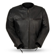 First Manufacturing  Mens FIM278CDL Indy Scooter Jacket