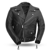 Mens  M/C Style FMM200BMP Superstar Jacket   by First Mfg.