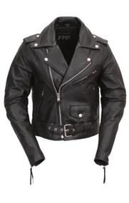 Womens FML137CRP BIKERLICIOUS Leather M/C Jkt