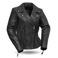 Womens FIL103MNZ Allure Leather M/C Jkt