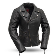 Womens FIL160NOCZ Monte Carlo M/C Jkt by First Manufacturing