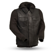 Womens FIM697CDDH Kent Leather  M/C Vest/JKT by First Mfg