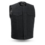Mens FIM633CNVS  Farfax V2  M/C Vest by First Mfg