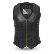 Womens FIL544SDM(BL) Savannah M/C Vest by First Mfg