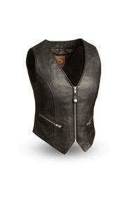 Womens  FIL515CSL Montana  M/C Vest by First Mfg