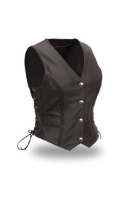 Womens FIL508CFD Trinity   M/C Vest by First Mfg