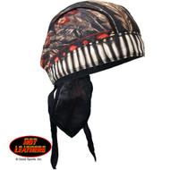 Hot Leathers Native American Headdress Premium Headwrap