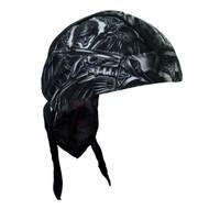 Hot Leathers Death Wings Headwrap