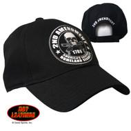 Hot Leathers 2nd Amendment Ball Cap