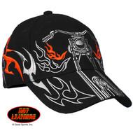 Hot Leathers Tribal Bike Ball Cap