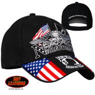 Hot Leathers Iron Eagle POW Ball Cap