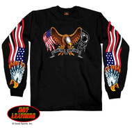 Hot Leathers Some Gave All Long Sleeve Shirt
