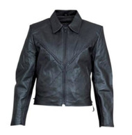 Allstate Leather Ladies Lambskin Motorcycle Jacket