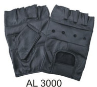 All Leather Fingerless Gloves