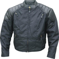 Men's Cordura Vented Biker Jacket