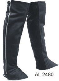 Allstate Leather Plain Analine Cowhide Leggings with Spandex