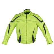 Dream Apparel Mens Textile Motorcycle Jacket