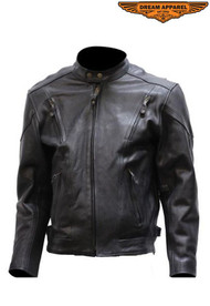 Dream Apparel Mens Racer Jacket w/ Front & Back Airvents