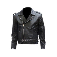 Men Motorcycle Jacket with Eagle and Z/o Lining