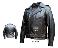 Men's Retro Brown Motorcycle Jacket
