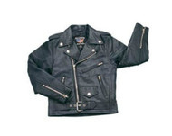 Kids Lambskin Leather Motorcycle Jacket