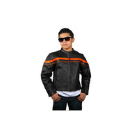 Kids Racer Jacket ORG Stripes